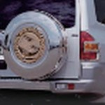 SILVER-BACK タイヤカバー [ステンレス] パーツ画像