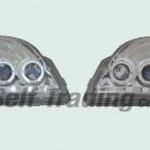LEDリング付きプロジェクターヘッドランプ パーツ画像