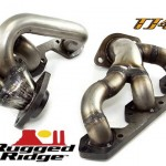 Rugged Ridge,Exhaust Header,2007-2010 JK Wrangler. パーツ画像