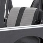 XRC Rear Seat Covers,Black/Grey パーツ画像