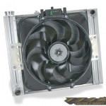 Direct-fit Flex-a-fit, Slim Profile, Aluminum Radiator & 15″Electric Fan パーツ画像