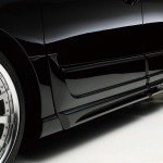 WALD SPORTS LINE BLACK BISON EDITION SIDE STEP DOOR PANEL パーツ画像
