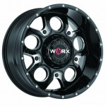 WORX 809 REBEL GROSS BLACK MILLED ACCENTS パーツ画像
