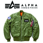 Jeep  × ALPHA INDUSTRIES MA-1 パーツ画像