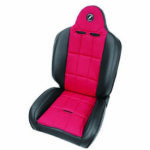 CORBEAU,Baja RS Recliner Seat,Black/Red Cloth パーツ画像