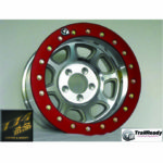 TRAILREADY、HD15 TR Bead Lock Wheels、Slim Ring、Red Anodized. パーツ画像