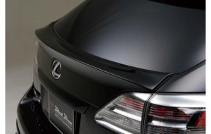 WALD SPORTS LINE BLACK BISON EDITION REAR GATE SPOILER パーツ画像