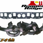 Rugged Ridge,Exhaust Header,2000-2006 Wrangler パーツ画像