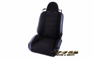 RRC Reclining Racing Seat Black/Black パーツ画像