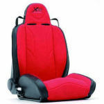 XRC Racing Style Recliner Seat,Black/Red パーツ画像