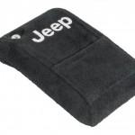 Jeep®ロゴ入り コンソールリッドカバー TJ パーツ画像